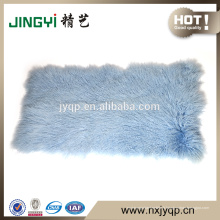 En gros de haute qualité cheveux longs plaque de fourrure de mouton tibétain mongol