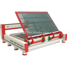 Automatic loading and unloading system glass cutting machine by water jet with 2000mm*3000mm cutting table and 380Mpa pump