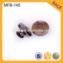 MFB145 Fancy designer custom metal clothing buttons manufactures
