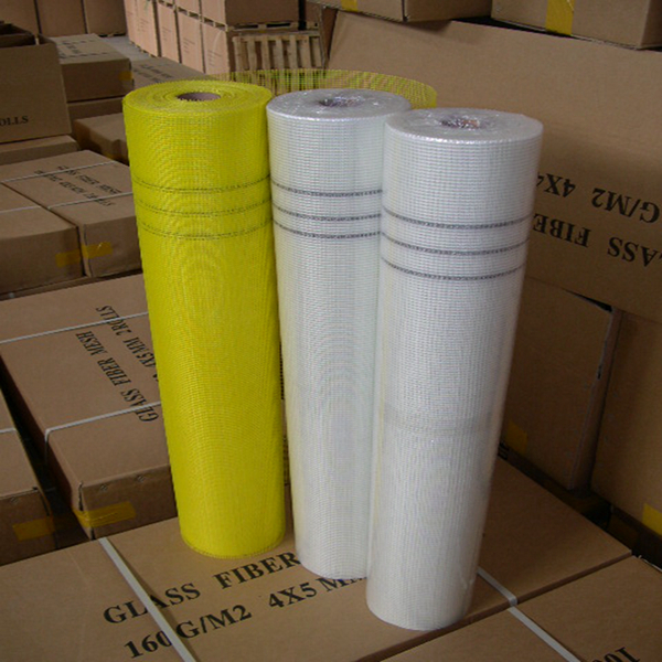 carton package of fiber glass net