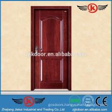 JK-SD9004 solid frosted glass bedroom door/teak wood designer entry door