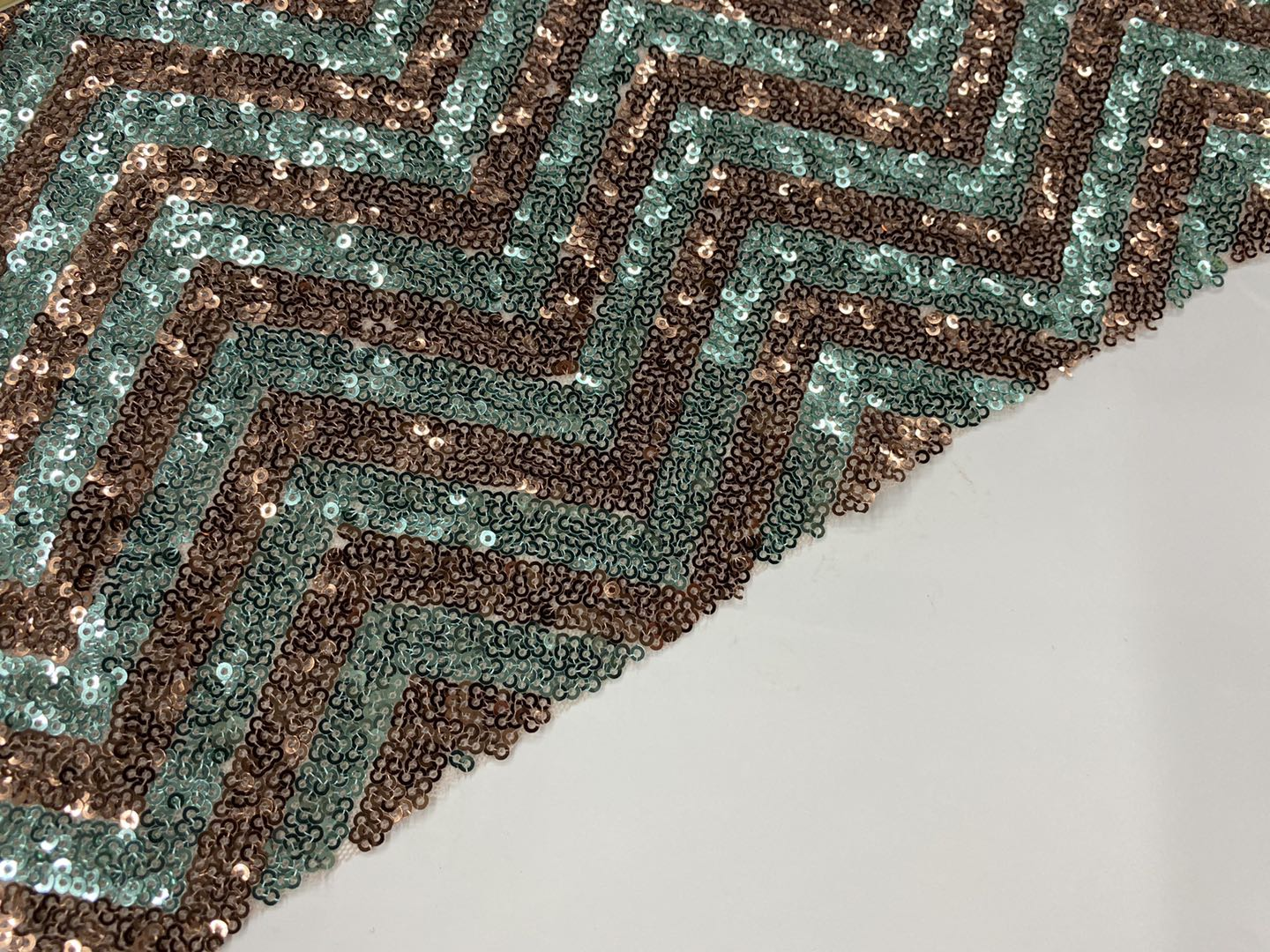 100% Poly Spangle Embroidery Fabric