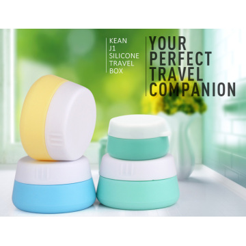 Cosmetic Silicone travel jar