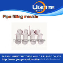 Fábrica de moldes de plástico de bom preço de alta qualidade para moldes de montagem padrão PPR em taizhou China