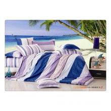 100 cotton 40s 128*68 luxury soft high quality pigment printing organic cotton bed linen