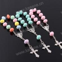 Trade Assurance Personalisierte Design Religiöses handgemachtes Perlen-Rosenbeet-Armband