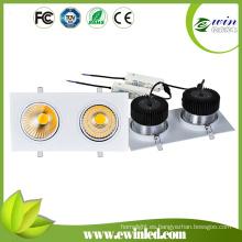 Downlight cuadrado de 2 * 40W LED con el CE RoHS
