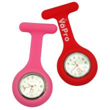 Hot Protable Mini Silicone Reloj de enfermera