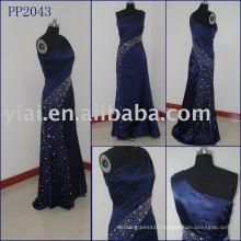 2010 manufacture sexy beaded silk evening dress PP2043