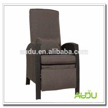 Audu Patio Chair / reclinable de gran tamaño Cómoda silla de patio con reposapiés
