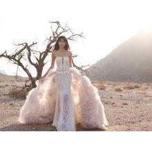 Sheath Bridal Gown Wedding Dresses Laides Clothes (BH010)