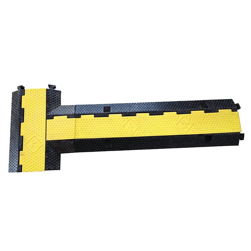 985*295*50mm 3 channel rubber cable protectors ramp