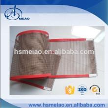 Resistência ao calor PTFE Teflon Revestido Fiberglass Mesh Mesh Belt