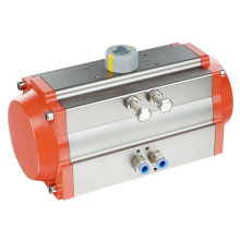 Actuador neumático estándar ISO 5211