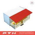China Flat Pack Container House as Prefabricated Home