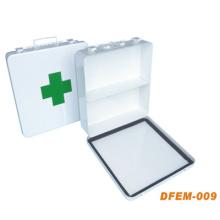 Wiederverwendbare medizinische leere Erste-Hilfe-Kit Box für Notfall (Metal Box)