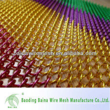 Metal mesh curtain, Hot sell chain link curtain for room divider made in china