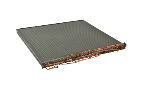 Air Conditioning Copper Aluminum Heat Exchanger