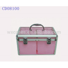 200 CD disks aluminum cute CD case with CD sleeves inside