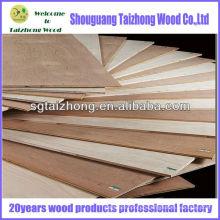 High Quality Poplar Veneered Plywood Sheet