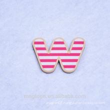 wood refrigerator magnet wholesale fashion letter fridge magnet
