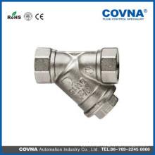 Aço inoxidável Y Filtro de 1/2 polegada a 2 polegadas