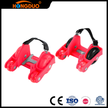 Best prices kids four wheel retractable roller skate shoes