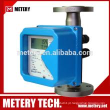 Medidor de fluxo volumétrico de medidor de fluxo de tubo de metal de baixo custo