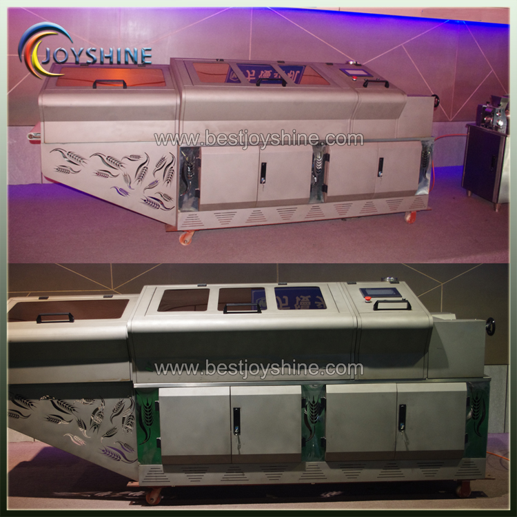 PLC automatic square shape bread cutting machine
