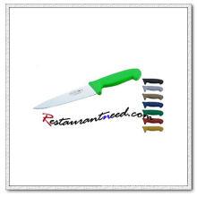 Cuchillo U388 Chef con mango de plástico verde