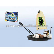 Building Blocks Pirate Toy