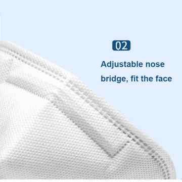 Masque facial pliable réutilisable Respirtor Kn95 N95