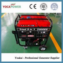 4kw Einzelzylinder Elektrischer Anfang beweglicher Benzingenerator