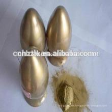 Goldbronzepulver für Farben, Tinten, Textildrucke usw.