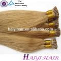 Extensión dibujada doble popular del pelo de la extremidad de Balayage de la alta calidad