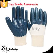 SRSAFETY рабочие нитриловые перчатки / тяжелые промышленные / защитные перчатки / изготовлены в Китае