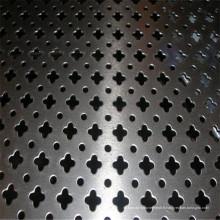 Fabricant galvanisé de maille métallique perforée