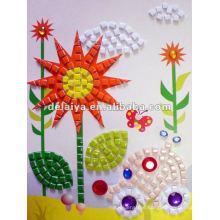 Children DIY Mosaic Sticker for sunflower