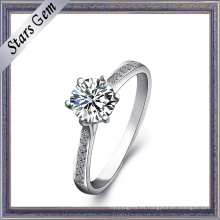 Joyería femenina de plata del anillo del precio al por mayor 925 del anillo