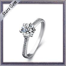 Preço de atacado de 925 de prata anel de moda feminina jóias