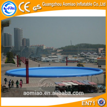 Custom piscinas de água redondas infláveis comerciais, piscinas walker água