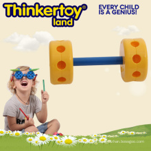 Jouets Plastic Blocks Natural & Color Educational Pre-school Toddler