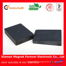 Strong Custom Shape Block Ring Y30 Ferrite Magnets for Sale