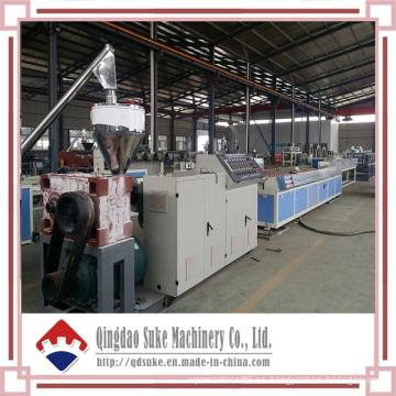 Línea de extrusión de producción de placas de techo WPC (SJSZ)