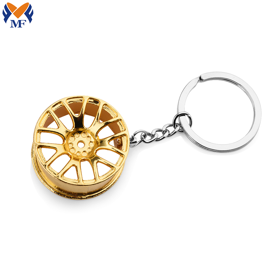 Steering Wheel Keychain