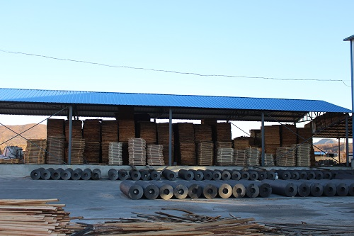 Graphite electrode export packing