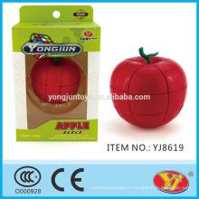 2016 новый продукт YJ YongJun Apple Magic Puzzle куб образовательные игрушки английский Упаковка для продвижения