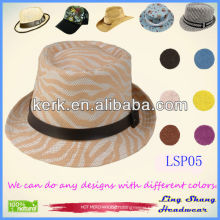 2013 Wholesale Knitted Women 100% Natural Panama Paper Straw Hat,LSP05