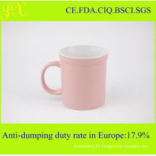 Color Glazed Ceramic Coffee Mugs
