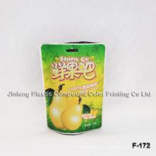 Stehen Sie Plastik-Frucht-Verpackungs-Beutel auf